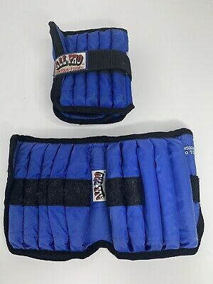 All Sports 1/2 To 10 Lbs Set Of Two Ankle And Wrist Weights.