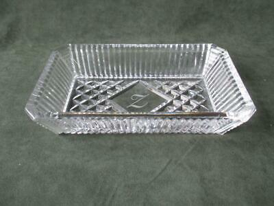 Fabulous Waterford Crystal Serving Tray