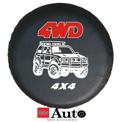 "16""4WD4X4 Spare Wheel Tire Tyre Cover Weather Resistant for All Diameter 76~79cm"