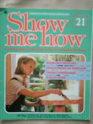Show Me How / #21 / Marbling Furniture