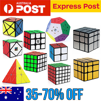 Magic Cube Smooth Speed Cube Puzzle Rubik 3x3 Mirror Axis YJ Rubics Rubix cube