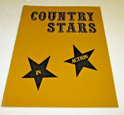 COUNTRY STARS IN ACTION Souvenir Album Sonny James & Band AUTOGRAPH SIGNED