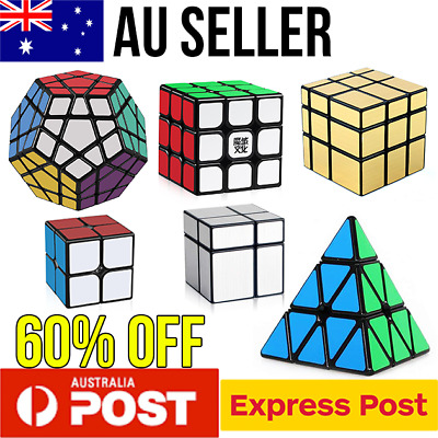 Magic Cube Smooth Speed Cube Puzzle Rubik 3x3 Mirror Pyraminx Rubics Rubix cube