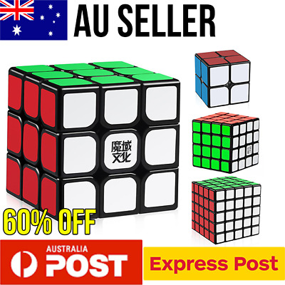 Magic Cube Smooth Speed Cube Puzzle Rubik 2x2 3x3 4x4 5x5 YJ Rubics Rubix cube