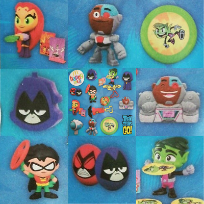 McDonalds Happy Meal Toy 2019 UK Teen Titans Go Character Figures - Various Toys