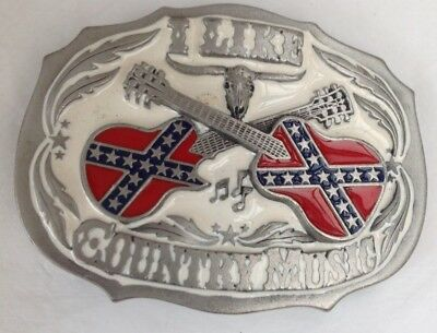 Country Music Style  Belt Buckle American  Style Vintage Classic Retro Western