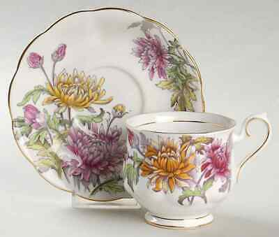 Royal Albert FLOWER OF THE MONTH (HAMPTON) Cup & Saucer 5487853