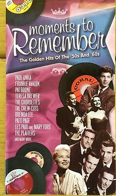 UNFORGETTABLE HITS - 4 Cd of 1950s 1960s Music Songs NEW