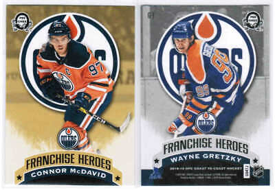 18/19 2018 O-PEE-CHEE COAST TO COAST HKY FRANCHISE HEROES CARDS G-XX U-Pick List