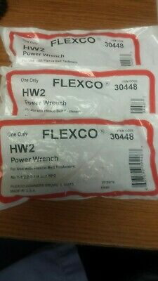 3 Flexco 30448  Hw2 Power Wrench New In Original Package