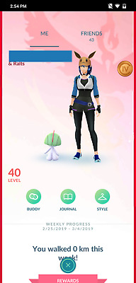 Pokemon Go Account Lvl 40 - Legacy MoveSets-2M+ stardust Shadow ball Mewtwo X3