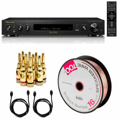 Pioneer Elite Slim Audio & Video Component Receiver(SXS30) Wire and Cable Bundle