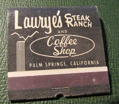 Matchbook - Laurye's Steak Ranch Palm Springs CA FULL 30 Strike