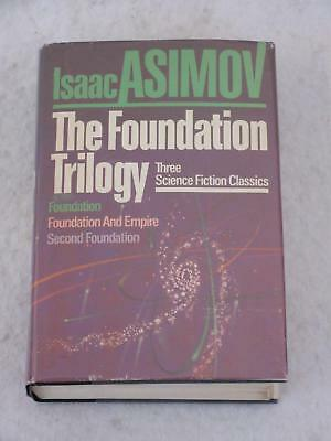 Isaac Asimov THE FOUNDATION TRILOGY Doubleday Trade Edition Later Printing