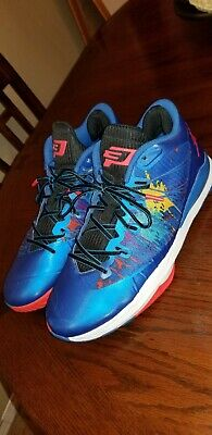 online store 72995 79b3c Nike Mens Air Jordan CP3.VII AE Blue Infrared Basketball Shoes Sz 12 644805-