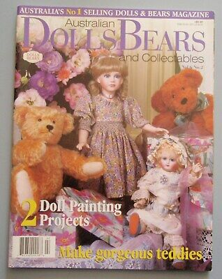 Australian Dolls Bears and Collectables Magazine Volume 6 No 2