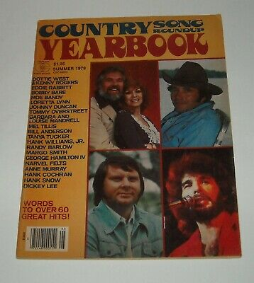 1979 Charlton Country Song Roundup Yearbook Magazine Dottie West Kenny Rogers
