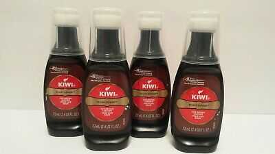 Kiwi Brown Scuff Cover 2.4 US FL. oz-Lot of 4 Bottles