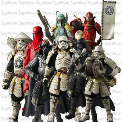 """Star Wars Movie Realization  Samurai Action Figure 7""""New in box Toy Gift Boba"""