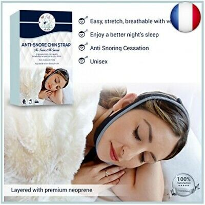 Siesta Dispositif anti-ronflement pour dispositif de sangle de menton