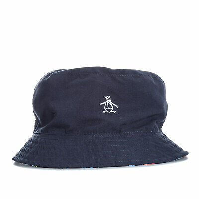 48ecce3cb20 Original Penguin Mens Pete Reversible Bucket Hat in Navy - One Size