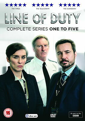 Line of Duty Series 1-5 Boxed Set [New DVD]