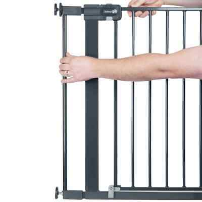 Safety 1st Safety Gate Extension 7cm Black Metal Baby Stair Guard Accessory