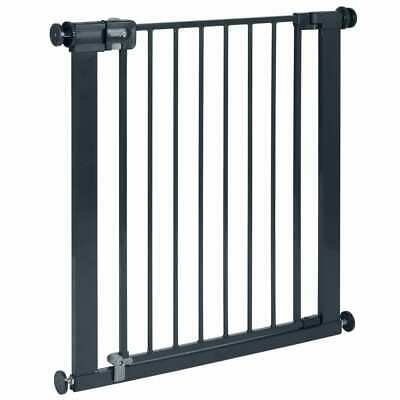 Safety 1st Safety Gate Easy Close 73cm Black Metal Baby Stair Barrier Guard