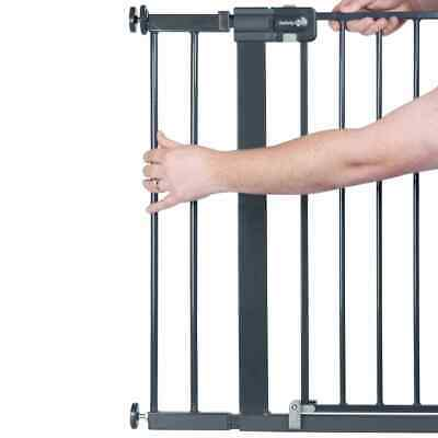Safety 1st Safety Gate Extension 14cm Black Metal Baby Stair Guard Accessory