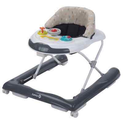 Safety 1st Baby Walker Bolid Warm Grey Toddler First Step Activity Centre