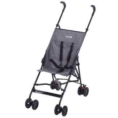 Safety 1st  Buggy Peps Black Baby Toddler Travel Carry Pram Stroller Cot Cart