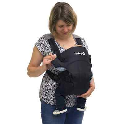 Safety 1st Baby Carrier Mimoso Black Toddler Child Sling Warp Carrier Backpack