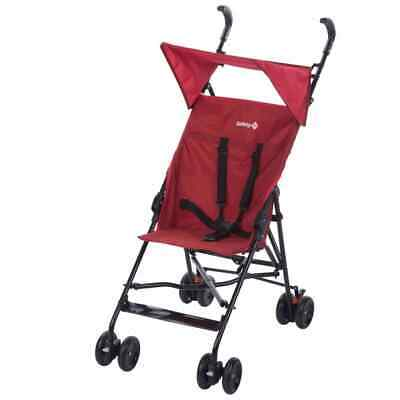 Safety 1st Buggy with Canopy Peps Red Baby Toddler Pram Stroller Cot Cart