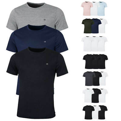 Calvin Klein Mens 3-Pack CK Breathable Crew Performance T-Shirt 25% OFF RRP
