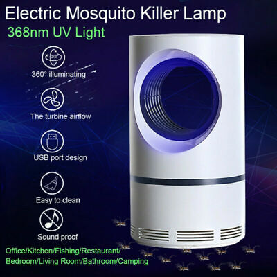 Electric Mosquito Killer USB LED Lamps Fly Mosquito Trap Light Insect Repellent