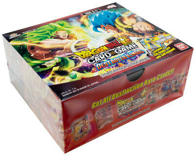 DragonBall Super TCG - Destroyer Kings Booster Display - Englisch
