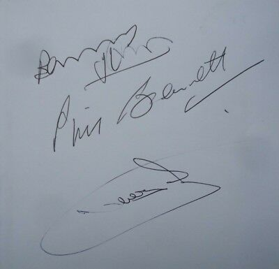 BARRY JOHN and PHIL BENNETT autographed - WELSH RUGBY BOOK