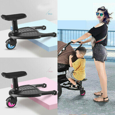Bumprider Sit Stroller Board Auxiliary Pedal Standing Plate Seat 3 Years to 20kg