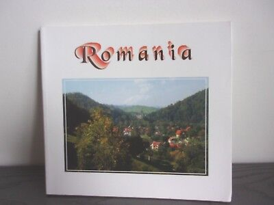 Roumanie Romania Livre De Photos Commentees En Roumain