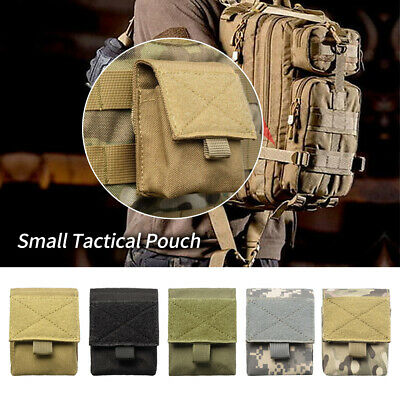 Tactical Molle Cigarettes & Lighter Pouch EDC Utility Cigar Waist Pack Key Case