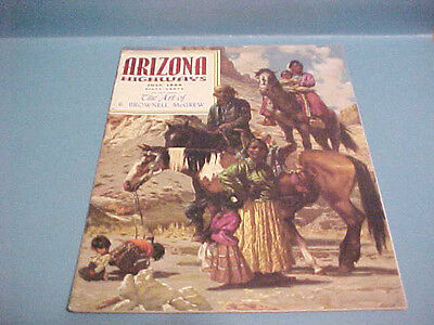 July 1969  Arizona Highways Magazine The Art Of R. Brownell Mcgrew This Issue