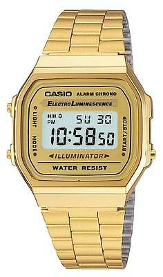 Casio Gents Digital Watch A168WG-9EF RRP £60.00 Our Price £36.95 Free UK P&P