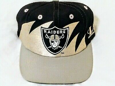 3325cc5ccafecc Vintage LA Los Angeles Raiders Logo Athletic NFL Pro Line Shark Tooth  Snapback