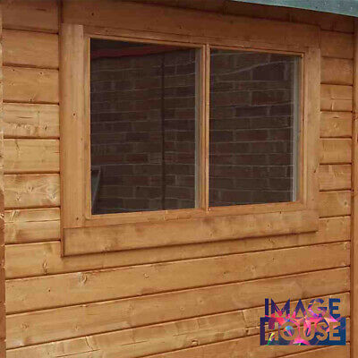 Clear Perspex Acrylic Safety Plastic Sheet Replacement Garden Shed Windows