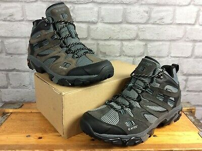 Hi-Tec Mens Uk 10 Eu 44 Ravus Vent Waterproof Mid Walking Boots Rrp £90