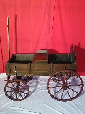 Child's Studebaker Junior Wagon, Goat Wagon, Reproduction (?),  Pickup Only
