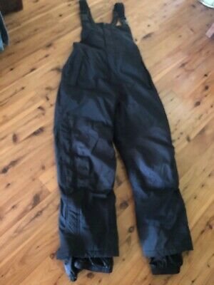 Cabelas Womens Sz L Insulated Winter Sports Snow Ski Snowboard Bib Pants