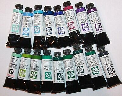 17 DANIEL SMITH Extra Fine Watercolor Paint:15ml-ALL SERIES 2