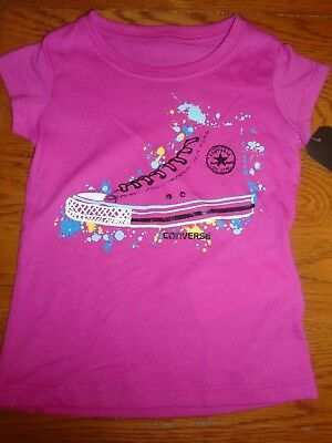 BNWT girls pink Converse boots top. Age 3 years.    (2/1)