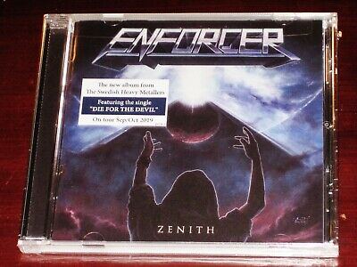 Enforcer: Zenith CD 2019 Nuclear Blast Records USA NB 4918-2 NEW